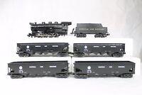 MTH RK-026 Norfolk & Western 0-8-0 Steam Loco Hopper Car Set LN