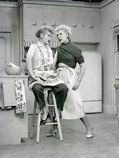 Rare Still Lucille Ball  Cast  Member on Set