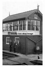 pt2790 - Railway Signal Box , Maltby , Yorkshire - photograph 6x4
