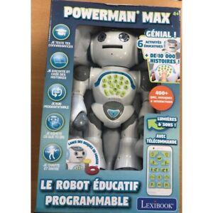 ROBOT EDUCATIF POWERMAN MAX de chez LEXIBOOK BOITE NEUVE
