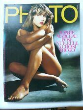 PHOTO  MAGAZINE N° 216 SEPTEMBRE 1985 SOPHIE MARCEAU