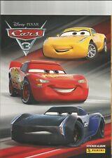 Disney Pixar Cars 3 Panini Libro de pegatinas más 6 Pegatinas