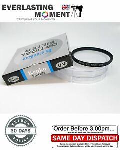 Cuely / KenKo 62mm Slim UV Filter Lens for Pentax Canon Nikon Olympus Sony
