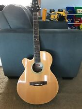 Stagg Acoustic Guitar SW206CE - LEFT HANDED