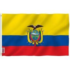 Anley Ecuadorian Flag Ecuador National Banner Polyester 3x5 Foot Country Flags