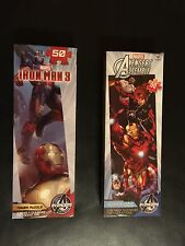 New Marvel Iron Man 3 & Avengers Assemble Tower Puzzles 50 Piece & Bifold Wallet