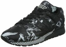Adidas Original Zx 710 Men's Black White Lace Up Casual Trainers Sneakers UK 7.5