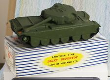 Dinky SuperToys #651 Centurion Tank Near Mint in Excellent Box