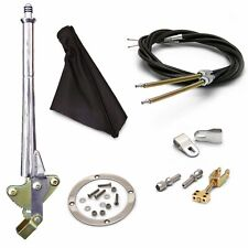16 Trans Mnt E-Brake HandleBlack Boot, Blk Ring, Cable Kit, Ford Clevis