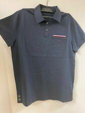 Moncler Navy Polo Shirt