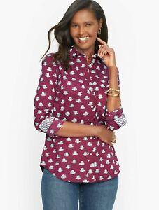 TALBOTS Shirt, Size M, New Arrival,  New  W/ $69.50 TAG.