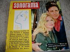 Franz. Zeitschrift ° Sonorama ° Brigitte Bardot