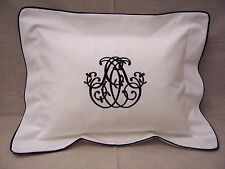 Handmade Solid Oblong/Rectangle Decorative Bed Pillows
