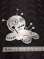 Voodoo Doll Metal Wall Art