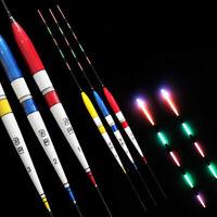 Eg _1Pcs Nachtfischen Schwimmer Led-Licht Elektrisch mit Batterie Glühen