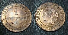 1 centime Cérès 1885 A - Qualité !