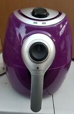 COOK'S ESSENTIAL 2.7QT 1200W MANUAL AIR FRYER K46626-039-000 PURPLE.
