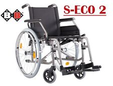 "Falt-Rollstuhl ""S-Eco-2"" mit Begleit-Bremsen SB: 52cm (UVP: €649,-)"