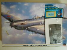 Hasegawa 1/32 Spitfire Mk.Vb night fighter + eduard photo etch (32029)