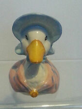 Royal Doulton Puddle Duck Character Jug Signed by John Berwick Jemima 1988