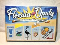 Florida Opoly Themed Monopoly Board Game New & Sealed Sunshine State Orlando