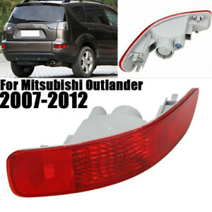 Right Side Rear Tail Bumper Reflector Light For Mitsubishi Outlander 2007-2012