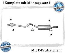 Auspuffanlage Opel Astra H, GTC, Caravan 1.9 CDTi Auspuff Montagesatz mit Chrom