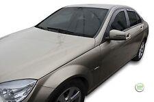 DME23258 Vent Déflecteurs Mercedes Classe C W204 4-portes 2007-2014 4pc HEKO tinted