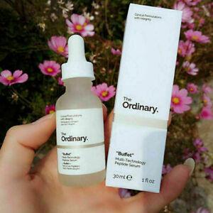 "NEW The Ordinary ""Buffet"" Multi-Technology Peptide Serum 30ml In Box - US Stock"