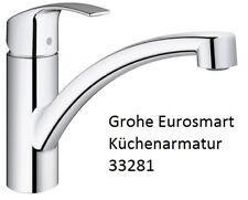 Grohe Eurosmart Küchenarmatur 33281, Spültischmischer Küche Einhebel einhand