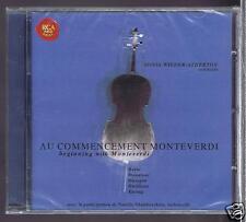 MONTEVERDI/ KURTAG/ DUSAPIN/ DONATONI CD NEW / SONA WIEDER ATHERTON