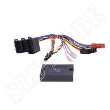 MERCEDES CLASSE C w203 CAN-BUS autoradio auto adattatore + VOLANTE 10pin CONNETTORE ISO