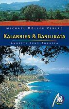 KALABRIEN BASILIKATA Reiseführer Michael Müller 10 Italien Reisehandbuch NEU *