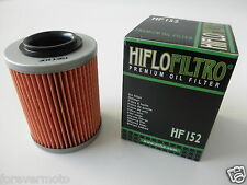 HIFLO FILTRO OLIO HF152 PER BOMBARDIER  400 Outlander 400 H.O. 4x4 XT (04-06)
