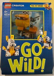 Birthday Card- Go Wild Lego Birthday Card