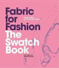 Fabric for Fashion: The Swatch Book by Clive Hallett Spiral Book -English