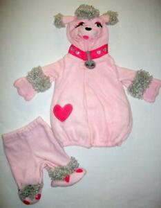 Baby Girl Pink Poodle Dog Costume Old Navy Size 0 - 6 Months