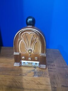 Jim Beam Collectable decanter radiogram radio Pacific Pioneers Broadcasters 1966