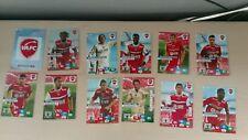 rare lot cartes VAFC VALENCIENNES panini ADRENALYN football 2013/2014
