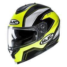 NEU HJC Helm C70 Lianto schwarz neon gelb weiß Gr. XS = 53/54 mit Sonnenblende