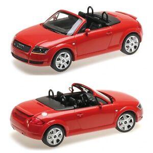 1/18 Minichamps Audi TT Roadster 1998 Red Neuf Livraison Colissimo Domicile
