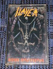 Thrash Metal Slayer- Divine Intervention VG Cassette Tape MC