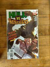 Marvel Hulk #1 of 1 Hulk VS Hercules When Titans Collide Unread Condition