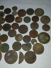 Bodenfund 40 alte Münzen ungereinigt russische Kopeken