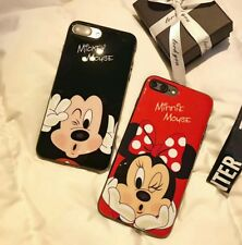 MICKEY and MINNIE (BLACK Case) for iPhone 5s 5g SE
