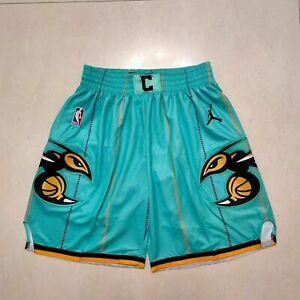 NEW Charlotte Hornets Men's Basketball Shorts Green Size S-XXL