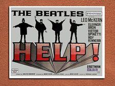 vintage retro style The Beatles Help movie poster metal sign wall door plaque