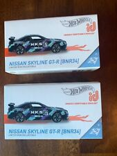 Hot Wheels Id Nissan Skyline Gt-R(Bnr34) lot (2) Rare $
