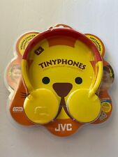 JVC HA-KD3-Y Over-Ear Child's Headphones HAKD3 Yellow New In Package.