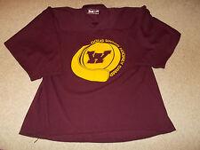 Vtg-University of Minnesota Gophers Doug Woog Hockey Camp Hockey Jersey Bakka